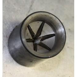 Incisore in acciaio per la chiusura stellare a 6 plicche cal.12