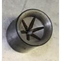Incisore in acciaio per la chiusura stellare a 6 plicche cal.20