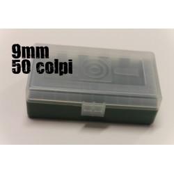 CPT scatola portacolpi 9mm 50 colpi