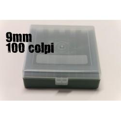 CPT scatola portacolpi 9mm 100 colpi