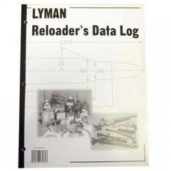 Lyman quaderno per registrazione dati ricarica