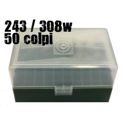 CPT scatola portacolpi 243-308 50 colpi