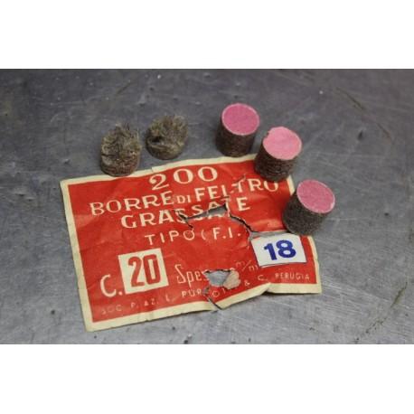 200 borre grassate cal.20 18mm