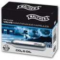 Walther bombolette CO2 lubrificanti 10 pezzi
