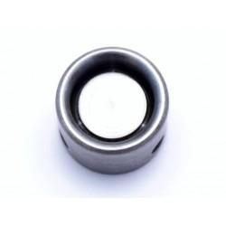 Steel roll crimper for crimp and round closure 32ga