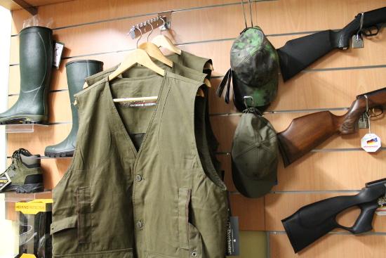 abbigliamento caccia e pesca